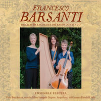 Francesco Barsanti Sonatas for Recorder and Basso Continuo