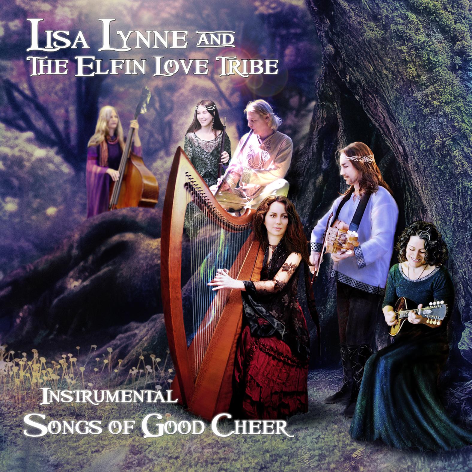 lisa lynne and the elfin love tribe instrumental songs of good cheer lisa lynne. Black Bedroom Furniture Sets. Home Design Ideas