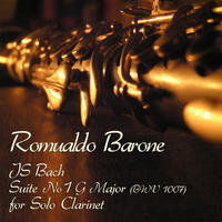 [JS Bach Suite No 1 G Major BWV 1007 by Romualdo Barone]