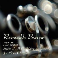 [JS Bach Suite No 3 C Major BWV 1009 by Romualdo Barone]