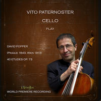 [David Popper, 40 Etudes Op 73 by Vito Paternoster]