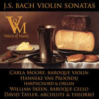 [JS Bach Violin Sonatas by Voices of Music]